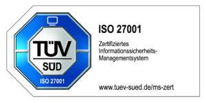 TÜV SÜD ISO 27001