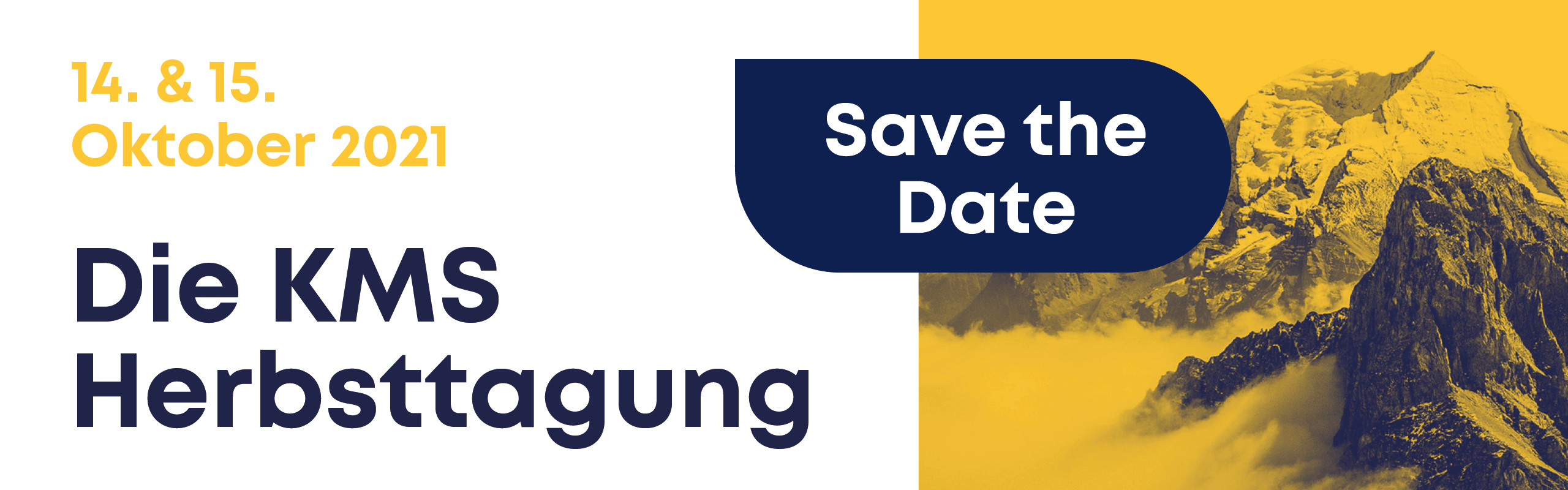 Herbsttagung 2021 - Save the date